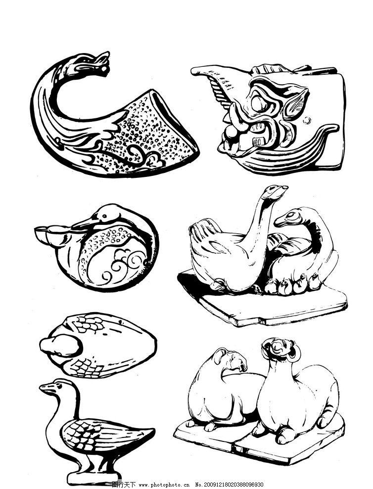 动物图片_花边花纹_底纹边框