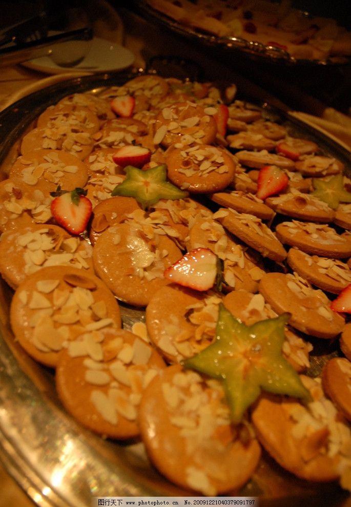 饼干 圣诞 自助 草莓 西餐 甜点 西餐美食 餐饮美食 摄影
