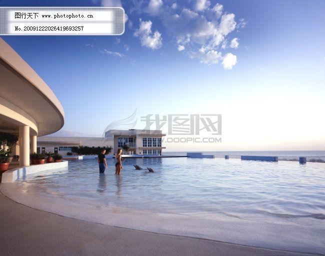 海边别墅免费下载 海边 海边风景 海边风景图 海边风景照 海边 海边