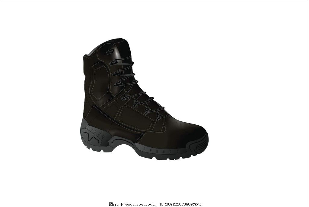 鞋子 矢量素材