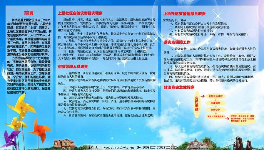 社区展板 社区 展板 背景 自然 模板 展板模板 广告设计模板 源文件