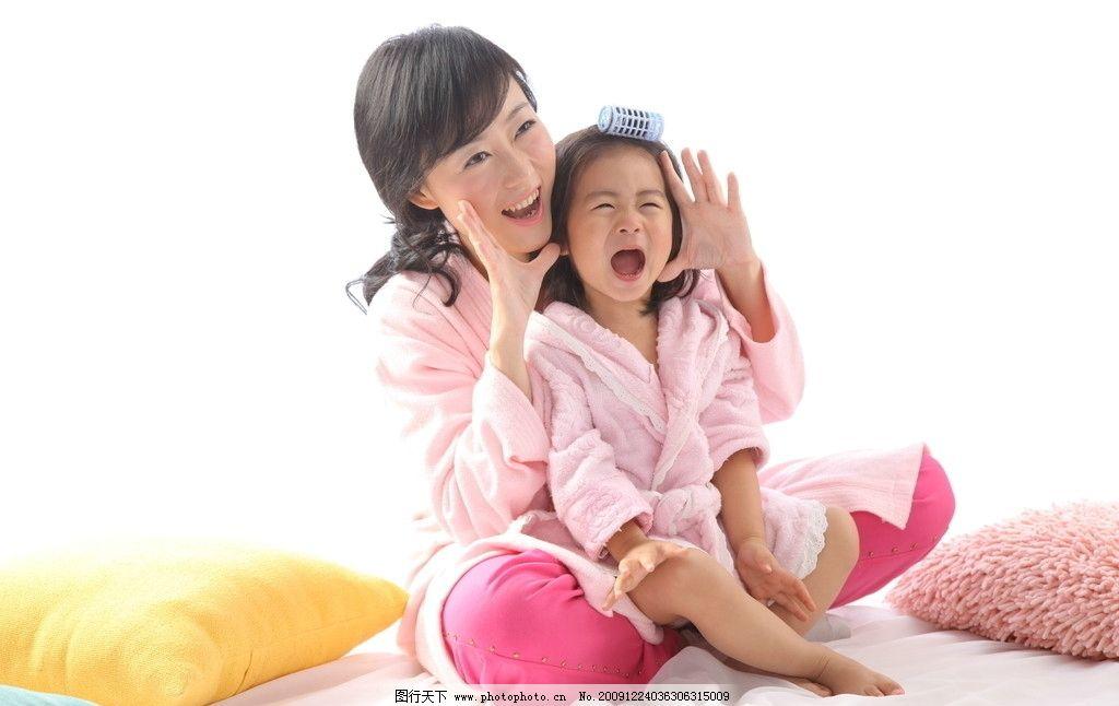 妈妈宝贝 漂亮妈妈 美女 女人 女性 宝宝 亲子 和谐 温馨 快乐