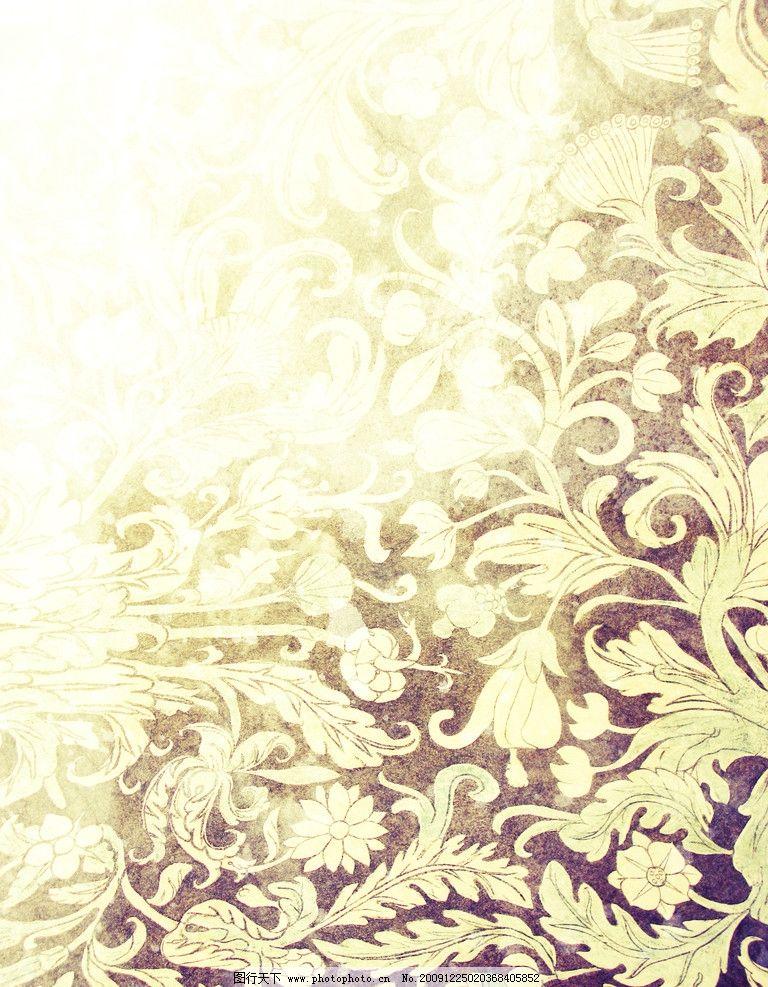 感花纹背景高清图片质感花纹 花纹背景 欧式花纹 高清图片 花边花纹