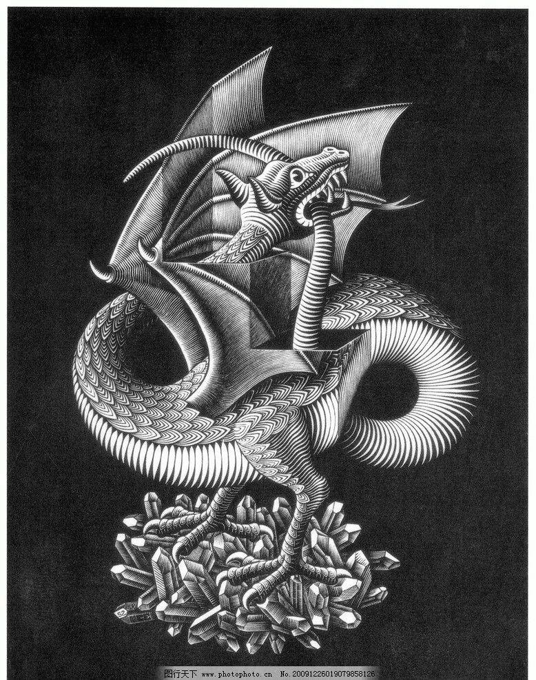 埃舍尔 平面设计 视错觉 绘画书法 文化艺术 设计 72dpi jpg