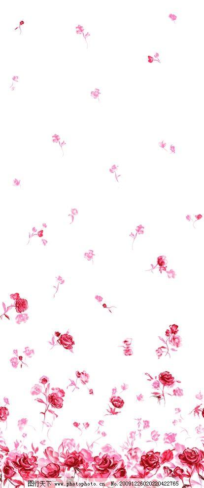时尚花纹背景 时尚背景 精美背景 玫瑰花背景 红玫瑰 花瓣背景 背景