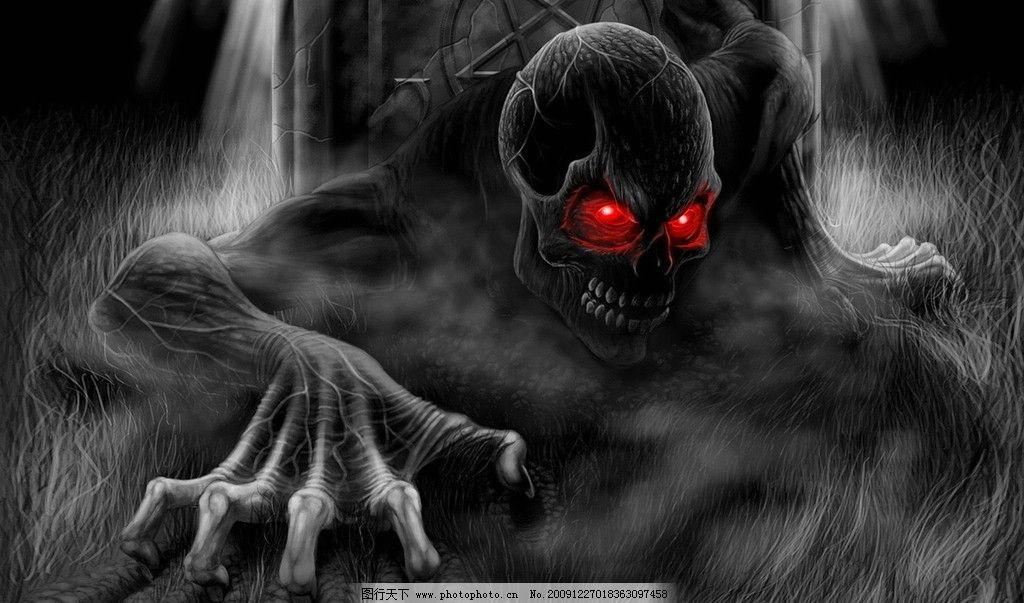 高清特效骷髅壁纸 高清 特效 骷髅 骨 背景 壁纸 动漫人物 动漫动画