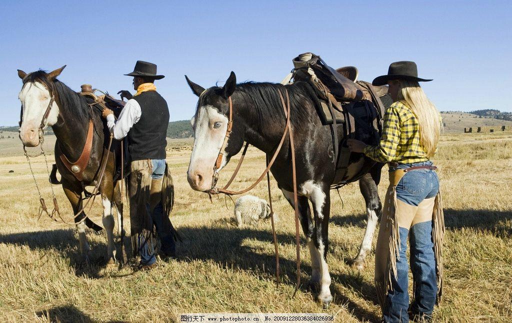 牛仔拼贴画动物