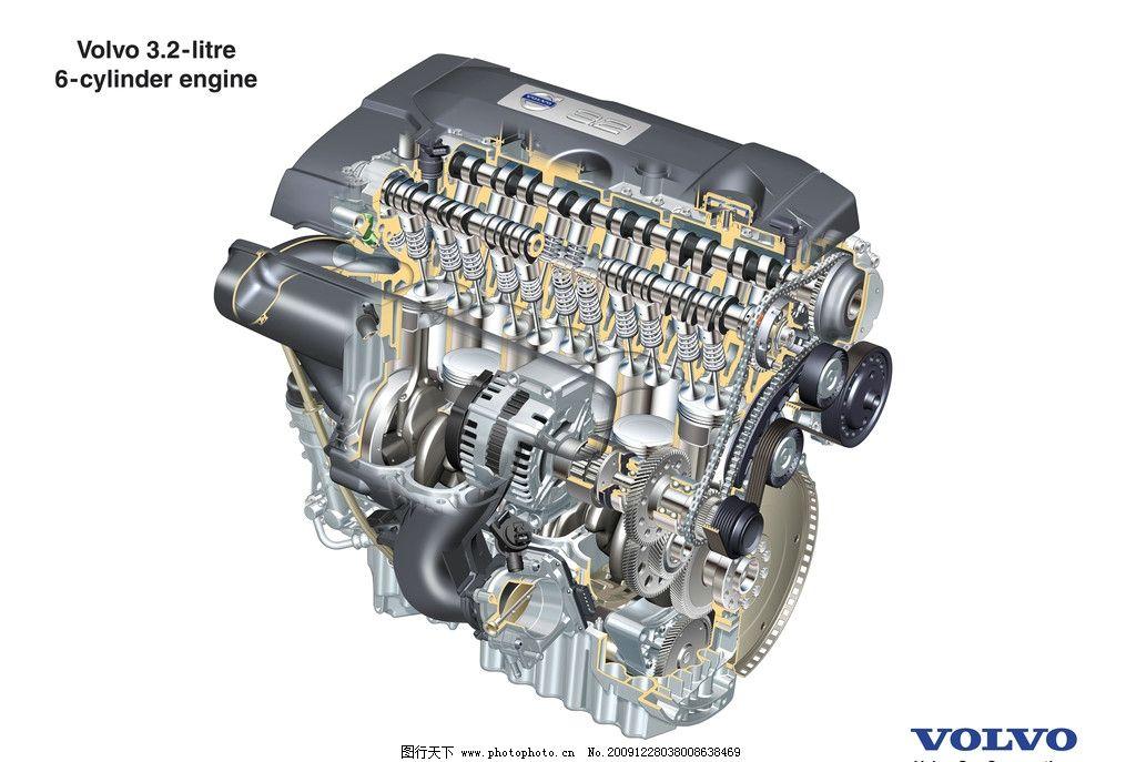 沃尔沃汽车s80_动力发动机图片