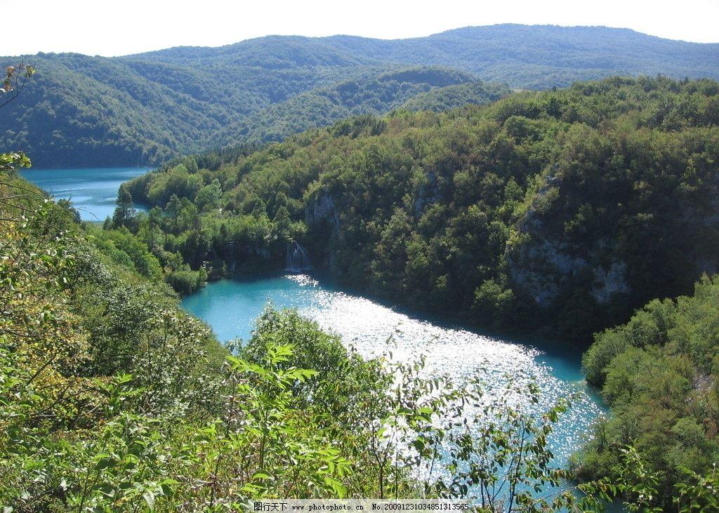十六湖国家公园 湖泊 十六湖 国家公园 森林 河流 瀑布 自然风景 自然